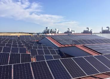 Paneles solares de Embutidos España