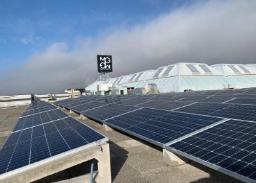 Panel fotovoltaico de Moraleja Green