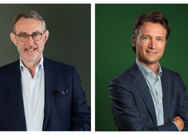 Jean-François van Boxmeer y Dolf van den Brink