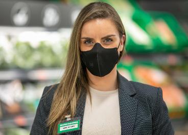 Mercadona moderniza sus mascarillas
