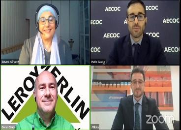 Consum, CHEP y Leroy Merlin, en Aecoc