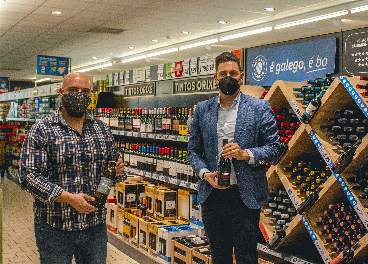 Lidl impulsa la venta de vinos de Galicia