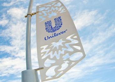 Crecimiento plano de Unilever
