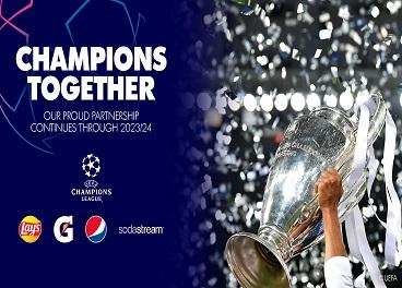 Acuerdo de PepsiCo y UEFA Champions League