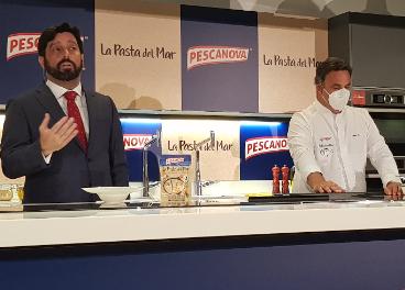 Presentación La Pasta del Mar de Pescanova