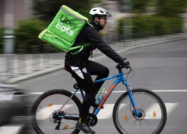 Rider de Uber Eats