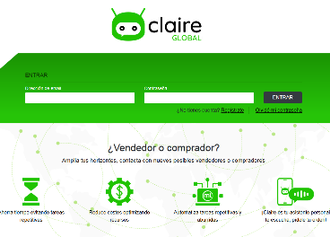 Nace el marketplace alimentario Claire Global