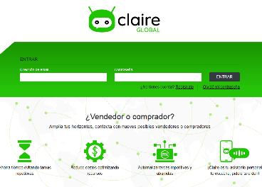 Nace el marketplace alimentario Claire Global