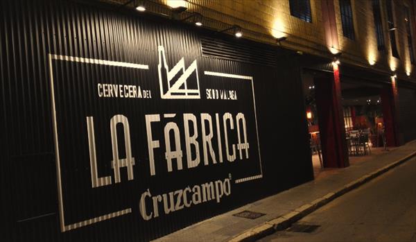 Cruzcampo inaugura La Fábrica en Málaga