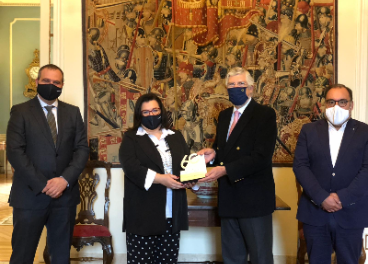 Encuentro Covirán en la Embajada de Portugal