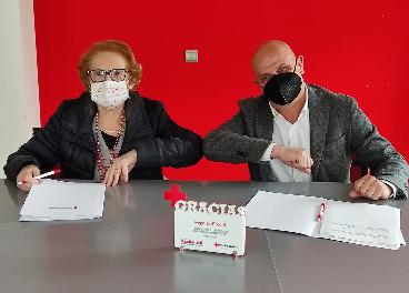 Acuerdo de Vegalsa-Eroski y Cruz Roja