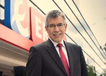 Agustín Markaida, presidente de Eroski