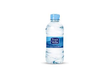 Botella de Font Vella, de Aguas Danone