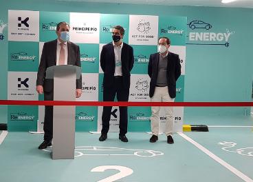 Klépierre inaugura Re-Energy en Príncipe Pío