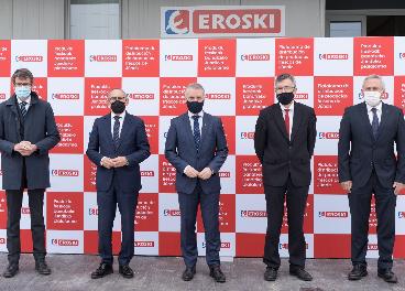 Eroski inaugura plataforma logística de frescos