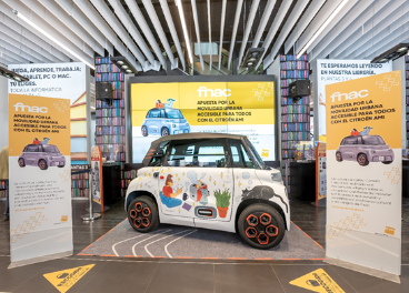 Fnac venderá el coche eléctrico Citroën Ami