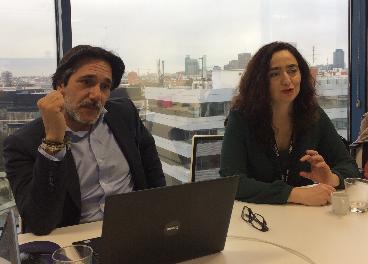 Jorge Fernández y Magdalena Martos, de Planet