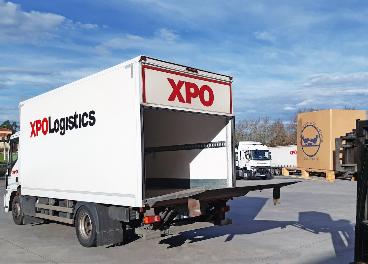 Donación de XPO Logistics a Fesbal