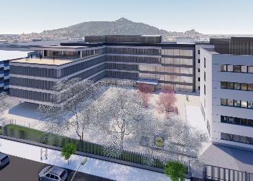Lidl amplía su sede en España