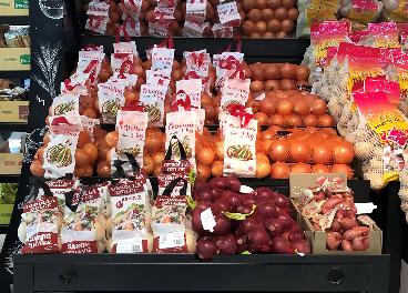 Cebollas en Mercadona