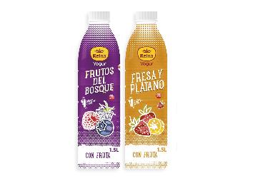 Nuevo formato de yogur bebible de Postres Reina