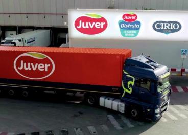 Camión de Juver Alimentación