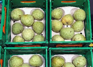 Chirimoyas españolas en Mercadona
