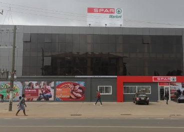Supermercado Spar de Accra (Ghana)