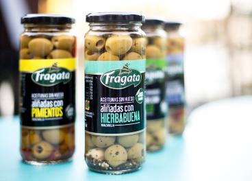 Aceitunas aliñadas de Fragata