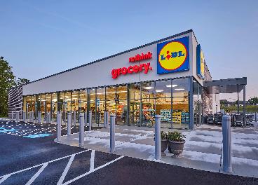 Tienda de Lidl en Estados Unidos
