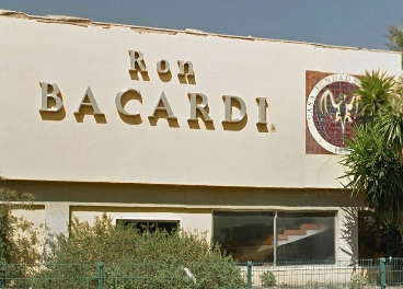 Antigua fábrica de Bacardí en Málaga