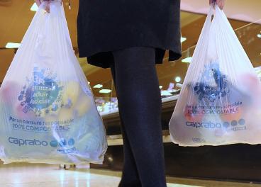 Bolsas reciclables Caprabo