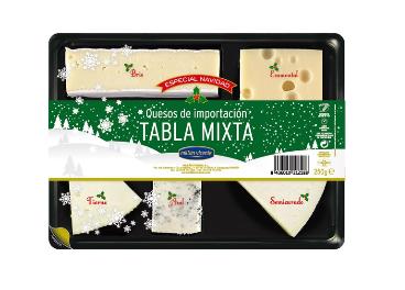 Tabla Mixta del Especial Navidad de Millán Vicente
