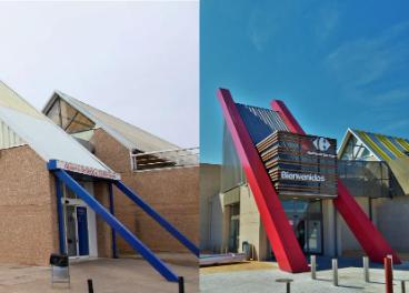 Acceso Carrefour Alcázar de San Juan