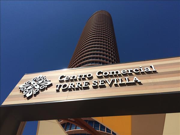 Inauguración del centro comercial Torre Sevilla