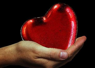 Corazón en San Valentín