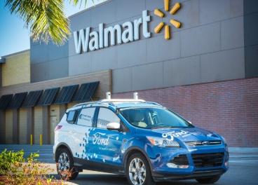 Walmart y Ford, delivery con vehículos autónomos