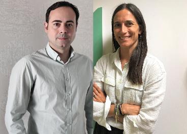 Iván Reyes y Vanessa Caralps, de Mars