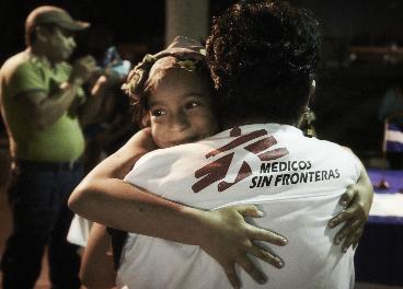 Miembro de Médicos Sin Fronteras