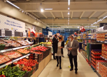 Interior supermercado Lidl