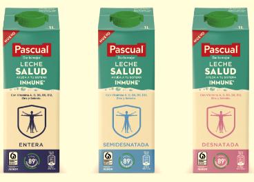 Nueva gama Leche Salud, de Pascual