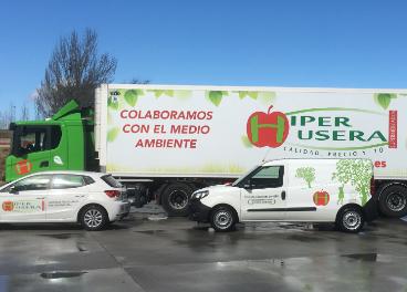 Coche, furgoneta y camión GNC de Hiper Usera