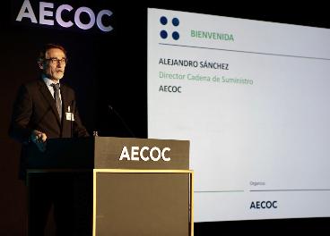 Alejandro Sánchez, durante el congreso de Aecoc