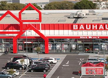 Tienda Bauhaus en Las Mercedes (Madrid)