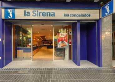 Tienda de la Sirena con la nueva imagen