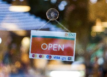 Tienda abierta