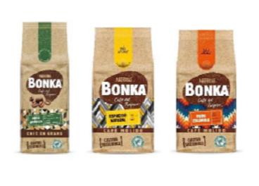 Nueva gama de Bonka, de Nestlé