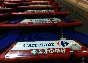 Carritos de la compra de Carrefour