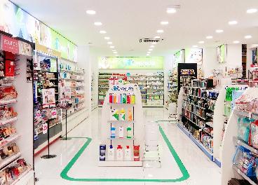 Zona de parafarmacia en Perfumerías Avenida