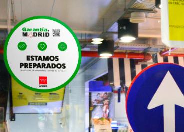 Sello 'Garantía Madrid' en Makro